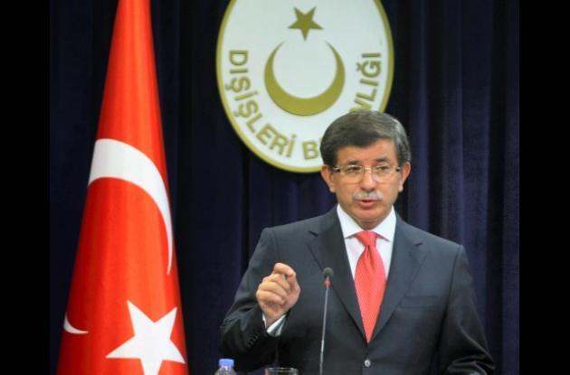 Ahmet Davutoglu, Ministro turco de Relaciones Exteriores
