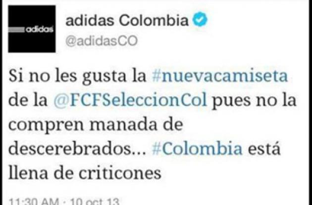 Trino 20000 de en Adidas sociales en Twitter causa polémica en redes sociales | 6d63fca - hotlink.pw