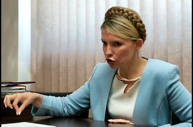 Timoshenko fue condenada a siete años de cárcel