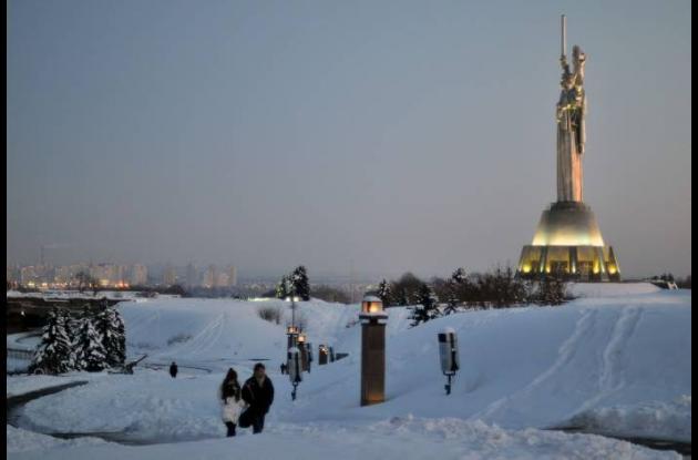 Ola invernal de Ucrania