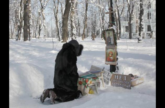 Ola de frío en Ucrania