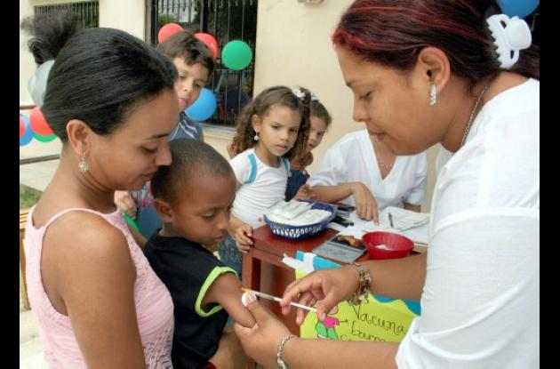 vacunas para niños y niñas
