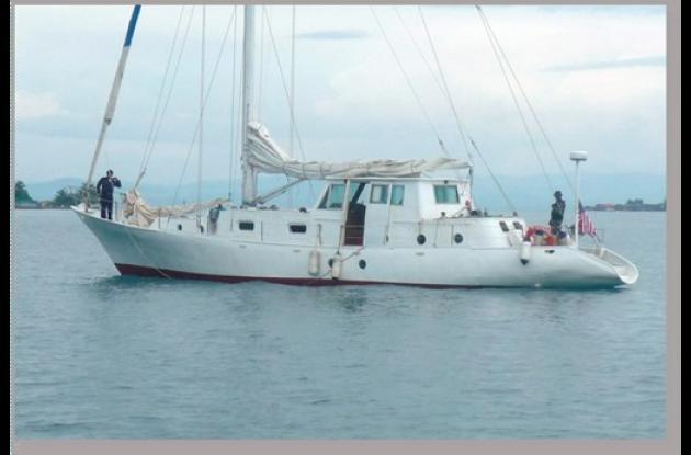 El velero Intaka había zarpado de Cartagena.