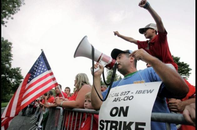 Huelga de trabajadores americanos