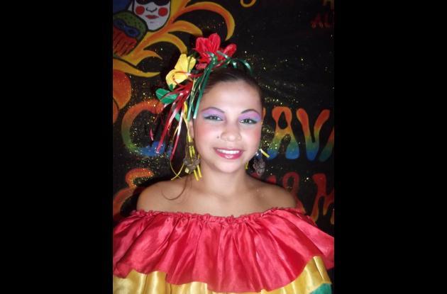 Verónica Castro, representante del Barrio Abajo.