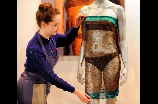Vestido de Kate Middleton vendido en subasta.
