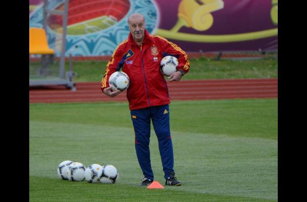 Vicente del Bosque Eurocopa 2012