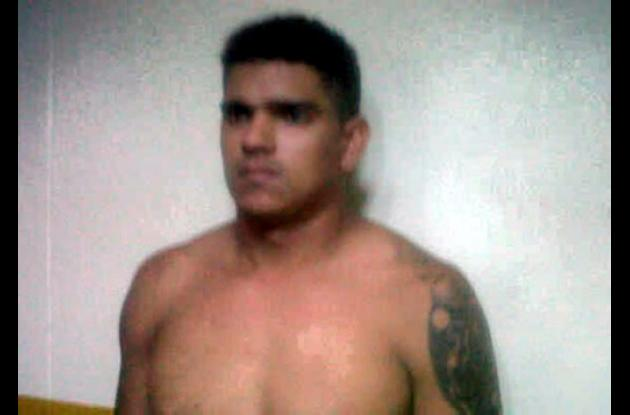 Víctor Alonso Amaya, presunto homicida.