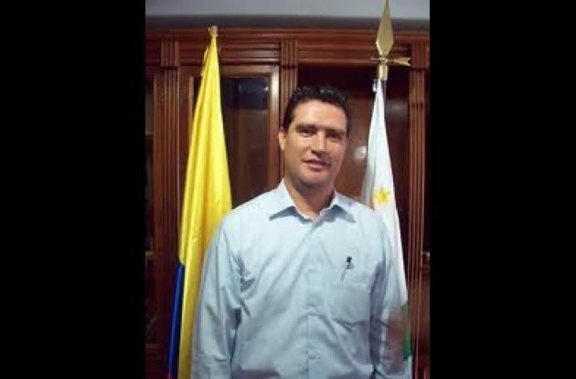 El gobernador Víctor Isidro Ramírez Loaiza.