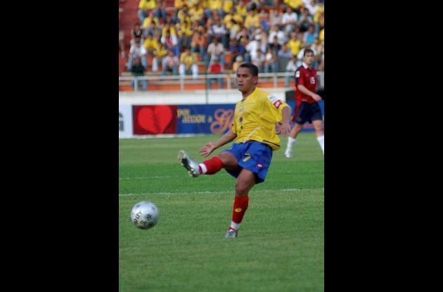 Víctor Danilo Pacheco, figura de Junior y de la selección Colombia
