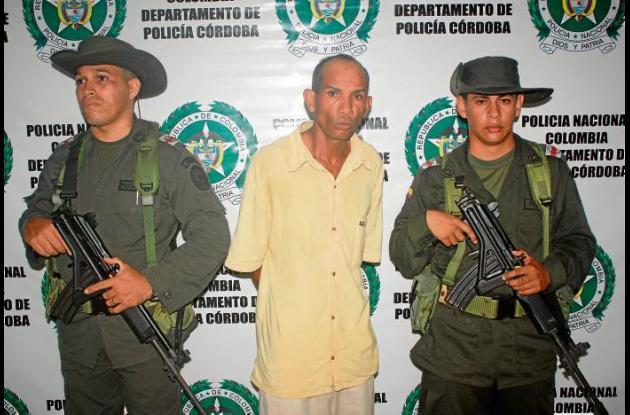 Albeiro Jiménez Anaya, capturado por violar a menor.