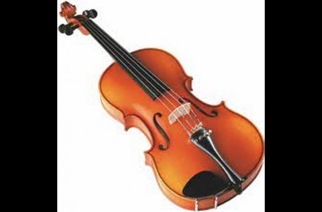 Violín, instrumento de cuerda.