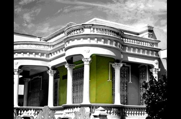 Vivian Saad trajo a Cartagena muestra sobre el patrimonio arquitectónico de Barranaquilla.