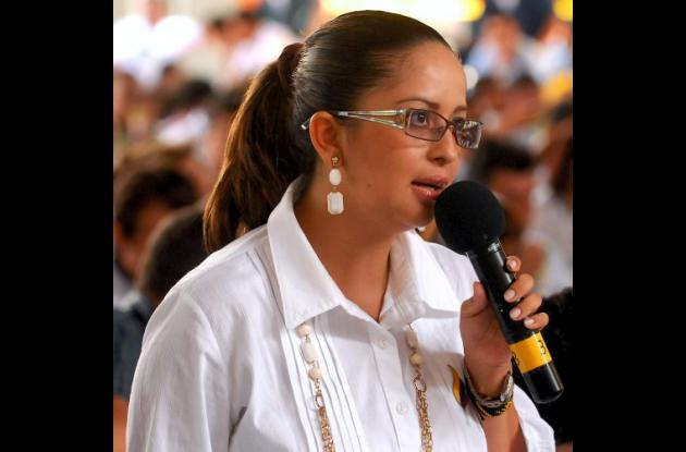 Viviana Manrique, exviceministra del Interior.
