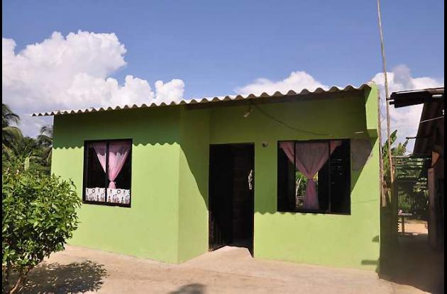 El Distrito entregó 21 viviendas al igual número de beneficiarios.