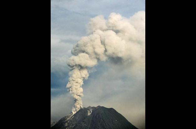 El último registro de erupción se registró en 1991