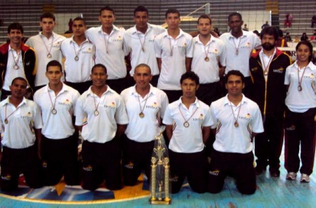 Selección Bolívar de voleibol.