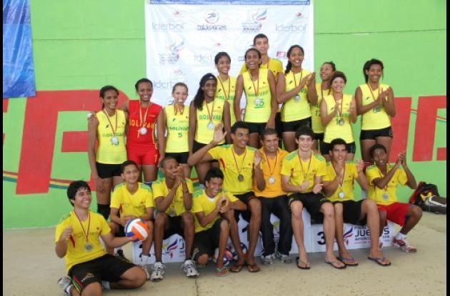 El voleibol, gran protagonista de Bolívar.