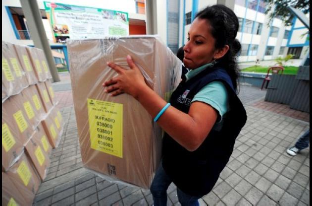 La votación se inició a las 08:00 de la mañana locales y durará ocho horas.
