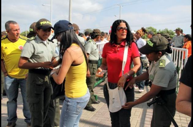 Indígenas wayuu prestan sus servicios con la Policía de Cartagena