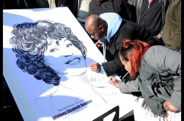 Funeral de  Whitney Houston