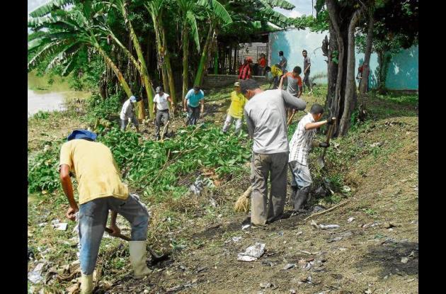 Comunales lideran jornada de limpieza en Wilches.