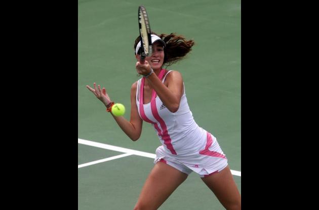 Natalia Yacamán buscará su primer título de este año en la categoría 18 años en