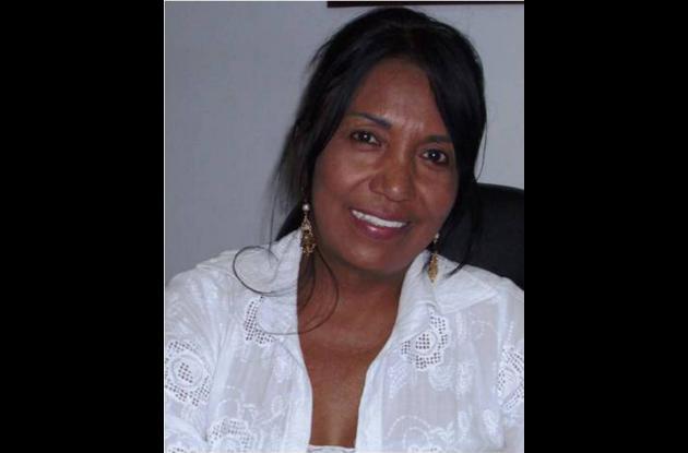 Yadira Borrego Herrera,  gerente de la Cooperativa de Transportes Integral de Ma