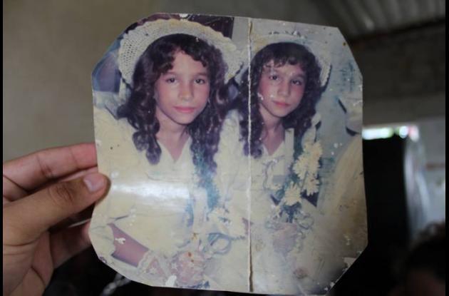 Las hermanas gemelas tenían una buena relación.
