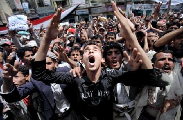 En Yemen siguen las protestas contra el gobierno de Alí Abdalá Saleh.