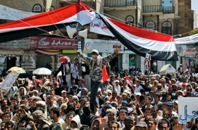 Miles salieron a las calles de Yemen a protestar contra el régimen de lAbdalá