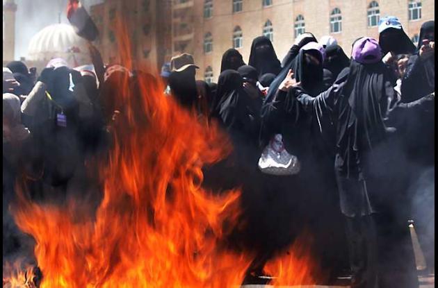 Las protestas son inspiradas por lo sucedido en países árabes