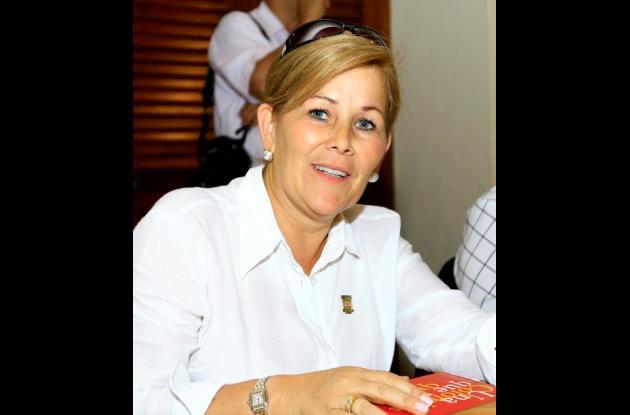 Yolanda Pinto, viuda del exgobernador de Antioquia, Guillermo Gaviria Correa