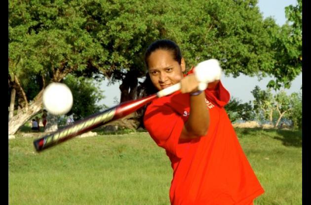 Yomara Olivero, una de las jugadores de más experiencia en Colombia.