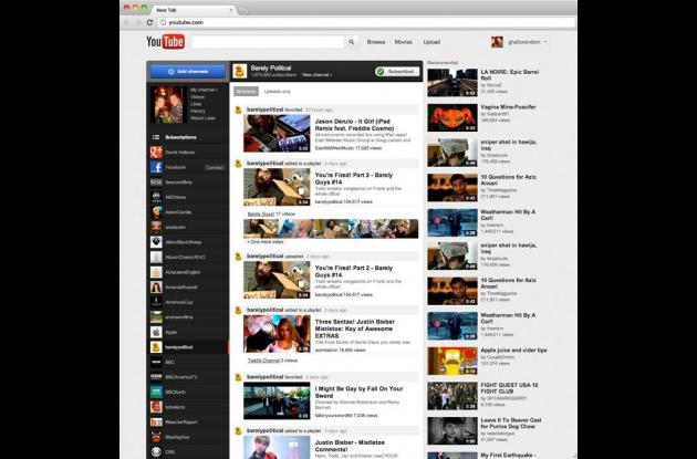 Youtube es uno de los portales especializados en vídeo más visibles y populares.