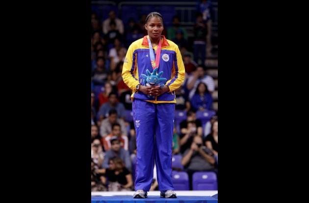 Yuri Alvear es una de las opcionadas a ganar medallas en los Juegos Olímpicos de