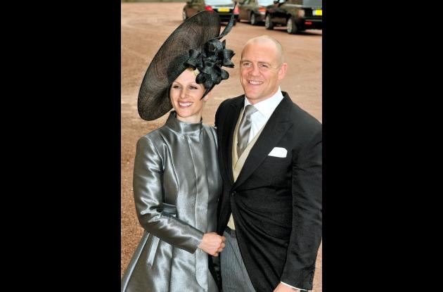 Zara Phillips, nieta mayor de la reina Isabel II,  se casará con Mike Tindall, j