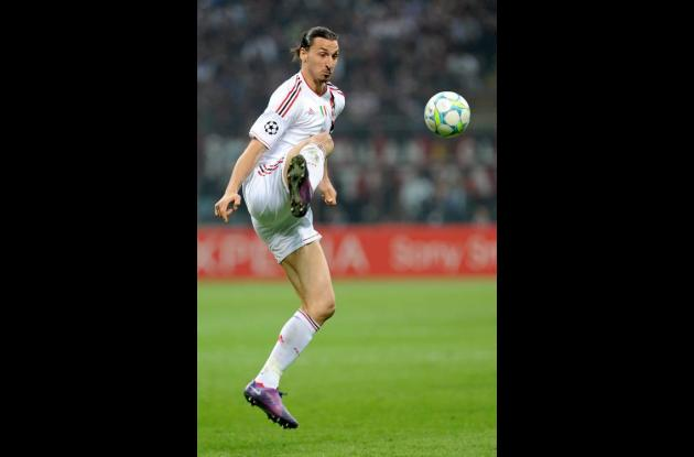 El sueco Zlatan Ibrahimovic.