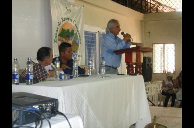 Foro de las Zonas de Reservas Campesinas, en El Carmen de Bolívar