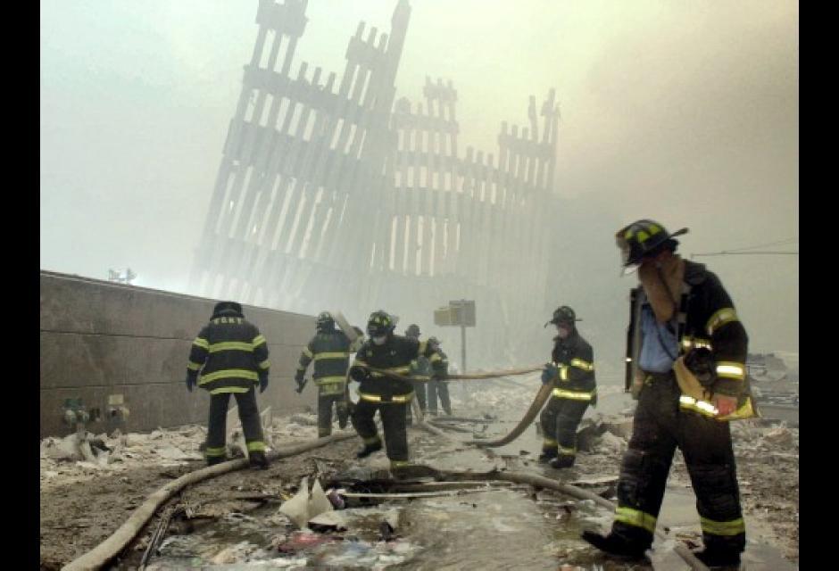 El cuerpo de bomberos no tenía descanso