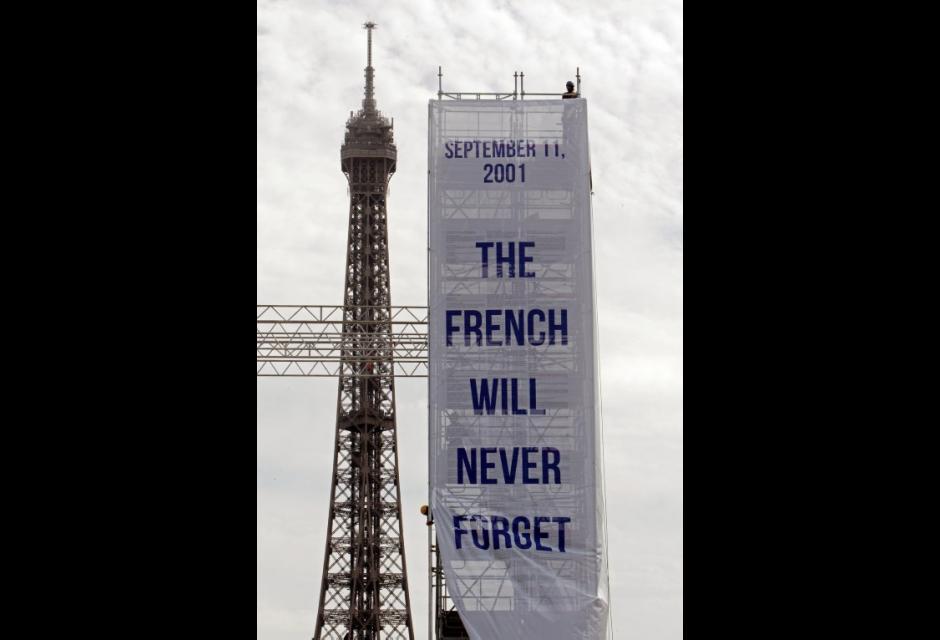 En Francia , hacen homenaje a víctimas del 11 de septiembre