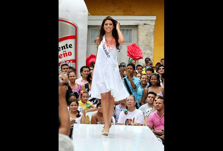Catalina Lasso, señorita Nariño.