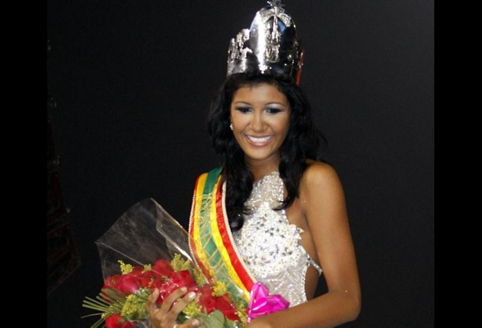 Geraldine Alvarez, Señorita Bolivar 2013