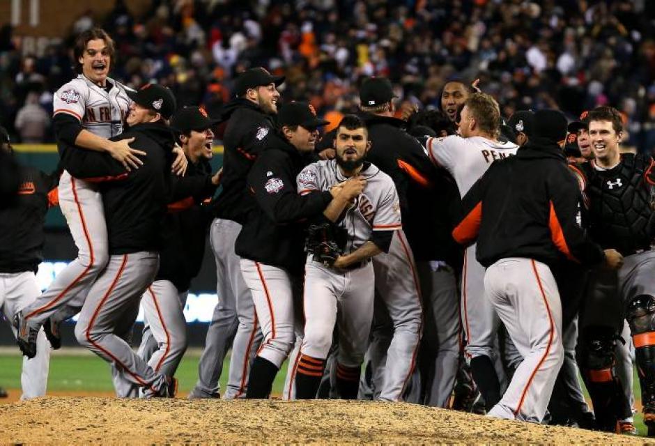 Gigantes de San Francisco, campeones de la Serie Mundial 2012 | EL ...
