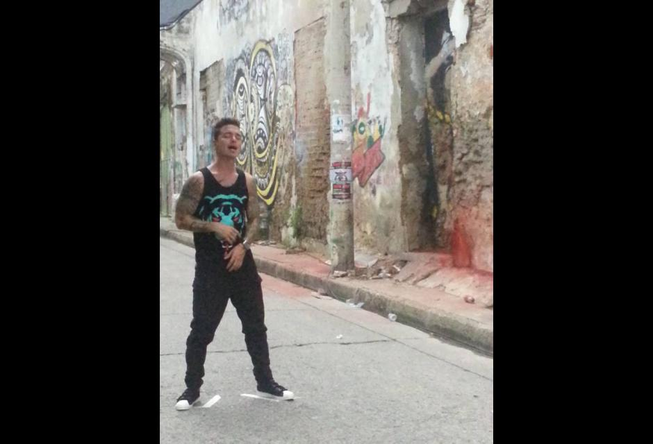 j balvin graba video tranquila en cartagena