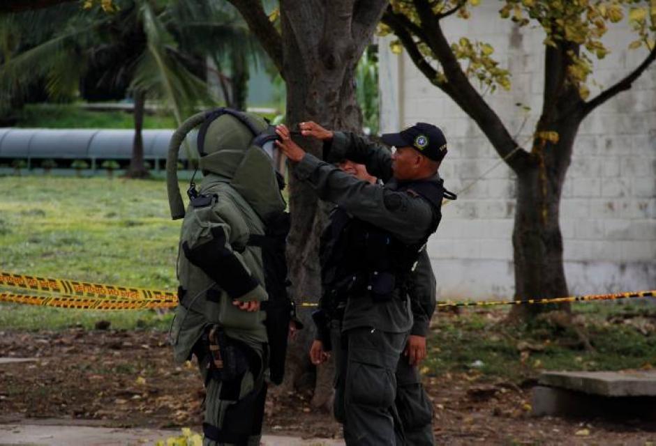 SIMULACRO DE ATENTADO TERRORISTA EN MAMONAL