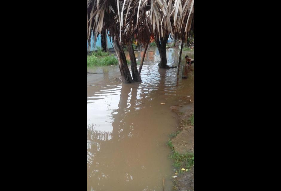Inundaciones en el banco magdalena lluvias crecimiento del rio