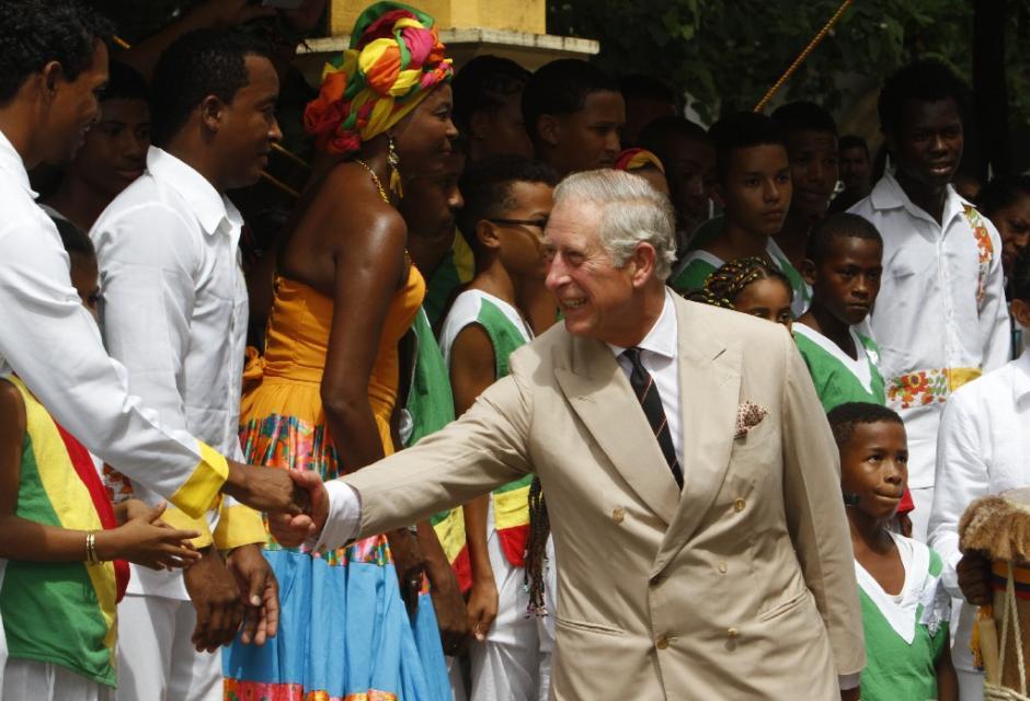 Príncipe Carlos en Cartagena