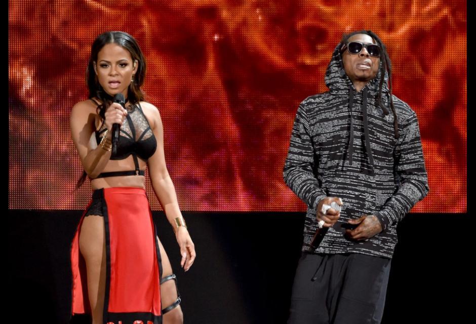 Christina Milian y Lil Wayne.