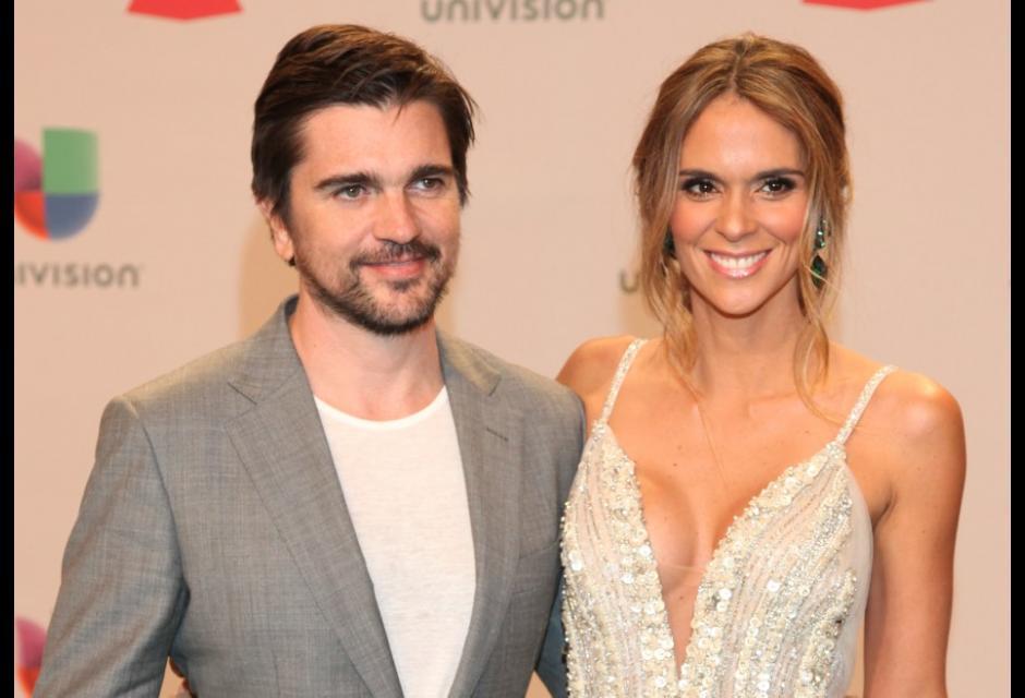 Juanes y Karen Martínez.